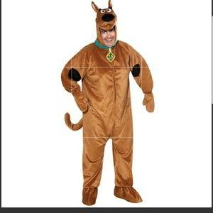 Scooby Doo Adult Costume NWT Lg